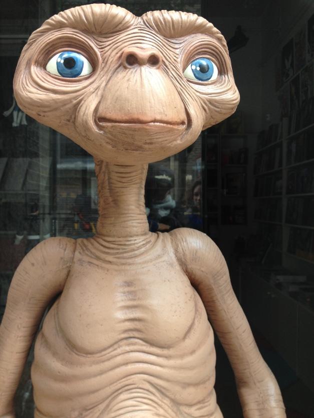 E.T. hat auch den Weg nach Spanien gefunden