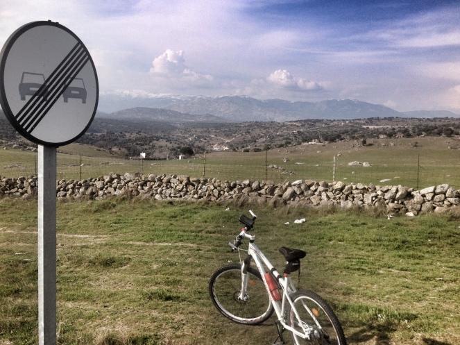 Auf dem Weg nach Hoyo de Manzanares