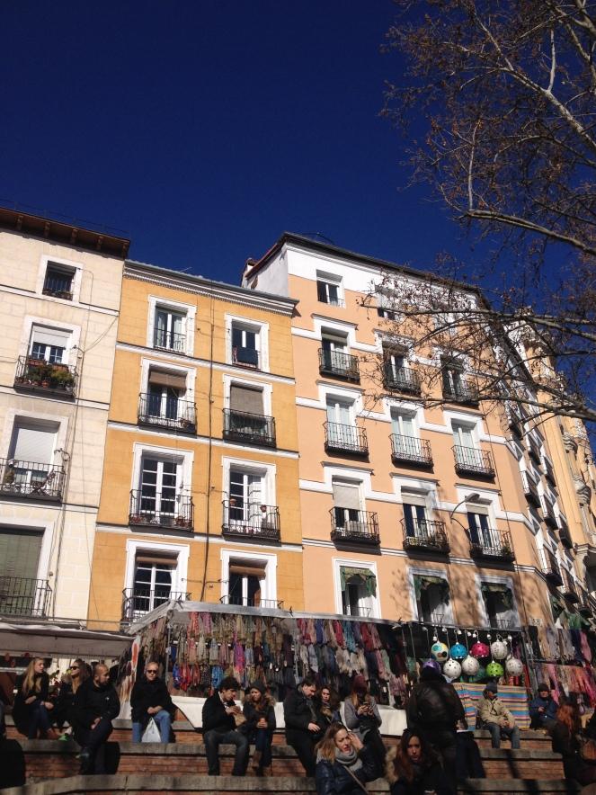 Häuserfassade