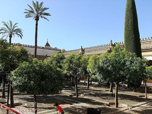 Der Patio (Innenhof) der Mezquita