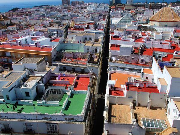 Über den Dächern von Cádiz